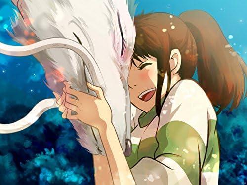 Sv6138 Spirited Away Haku Ogino Chihiro Sen Beautiful Amazing Anime Manga Art 24x18 Print Poster Amazon Ca Home Kitchen