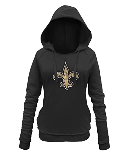 Image Unavailable. Image not available for. Color  New Era New Orleans  Saints Women s NFL Post Route Pullover Hooded Sweatshirt 28ac7dae51