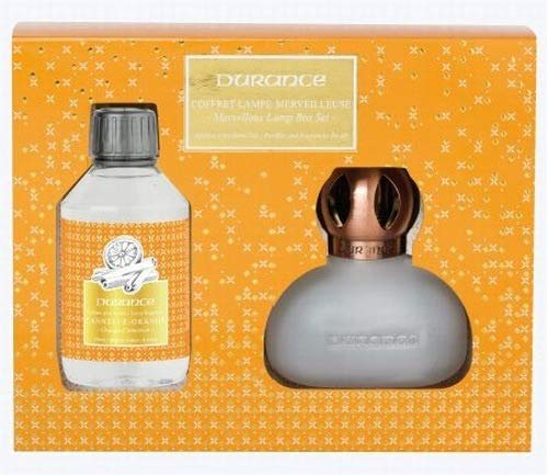DURANCE - Coffret Noel Lampe Merveilleuse Catalyse Cannelle Orange 250ml