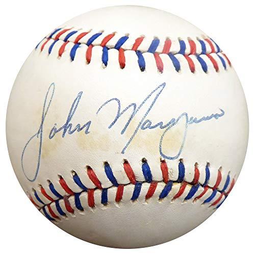 John Marzano Autographed Official 1984 Olympics Baseball Boston Red Sox, Seattle Mariners Beckett BAS #F27023