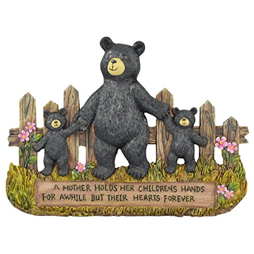 Pine Ridge Black Bear Mother And Child Inscribed