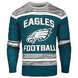 FOCO Philadelphia Eagles Ugly Glow In The Dark Sweater - Mens - Mens Small