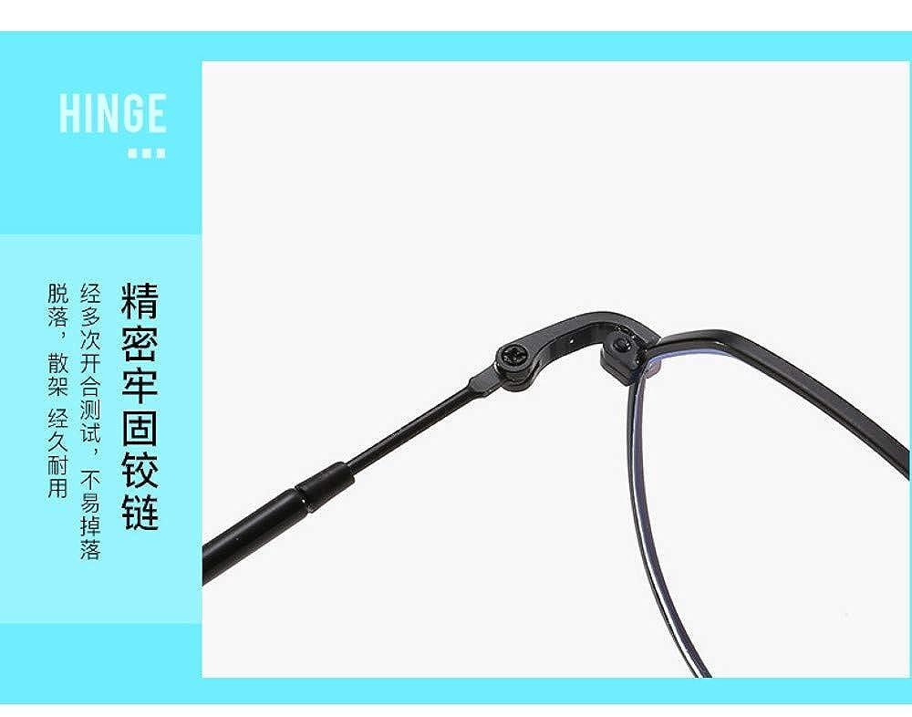 Gb Kk Eyes Anti-Blue Radiation Glasses Trend Eye Protection Flat Mirror Ultra Light Personality No Degree Black