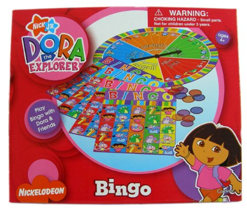 Board The Game Dora Explorer (Nickelodeon Bingo Game Dora The Explorer)