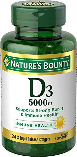 Natures Bounty Vitamin 5000 Softgels