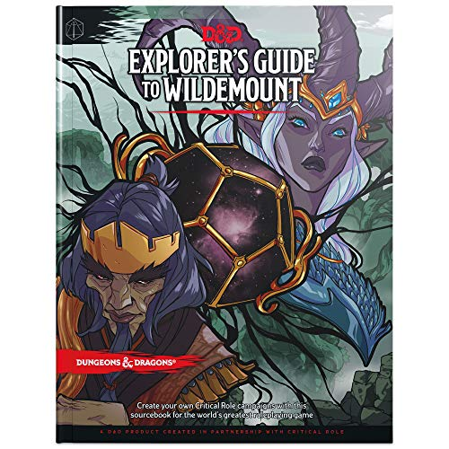 Book cover from Explorers Guide to Wildemount (D&D Campaign Setting and Adventure Book) (Dungeons & Dragons) by Wizards RPG Team