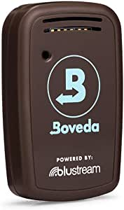 Boveda Butler for Cigar Humidors | Smart Hygrometer That Measures RH and Temperature With Auto Alerts to Your Phone | Easy-to-Use Calibration Kit | App for iOS and Android | 1-Count