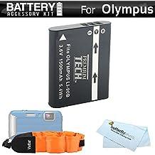 Battery Kit Bundle For Olympus TOUGH TG-Tracker, TG-5, TG-2 iHS, TG-4 Waterproof Digital Camera Includes Extended Replacement (1500Mah) LI-90B, Li90B, LI-90, LI-92B Battery + Floating Strap +++