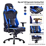 KILLABEE Big & Tall 400lb Memory Foam Gaming Chair Adjustable Tilt Deal