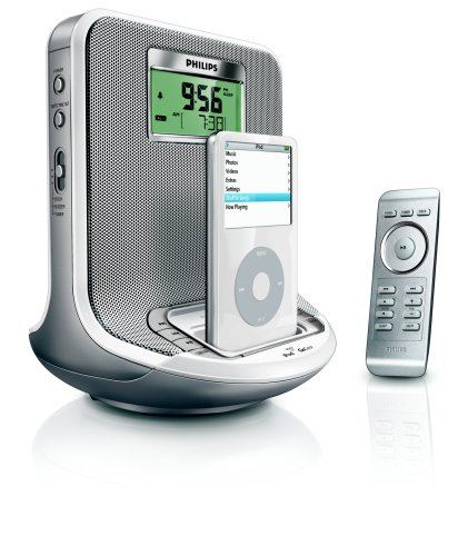Philips AJ300D Clock Radio with iPod/GoGear Dock (Discontinued by Manufacturer)