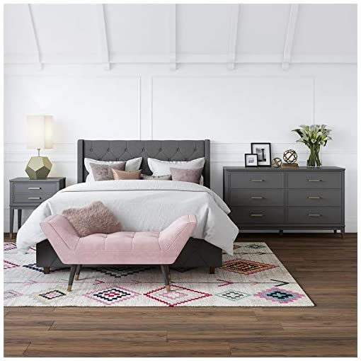 Bedroom Westerleigh 6 Drawer Dresser, Graphite Gray – Graphite Grey modern dressers