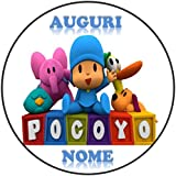 Pocoyo cialda de Ostia para tarta personalizable - Kit N ° 9 ...