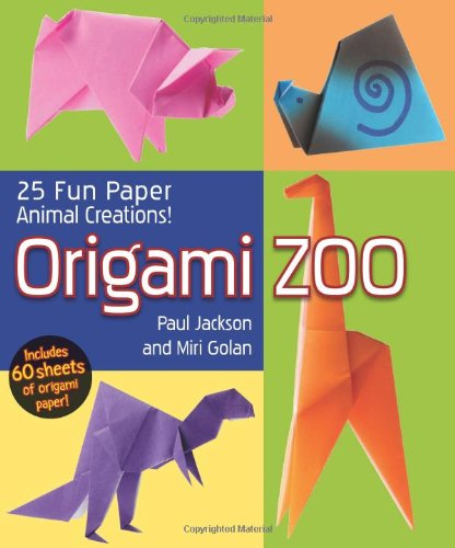 Origami Zoo: 25 Fun Paper Animal Creations! ()