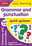 Grammar and Punctuation Quick Quizzes: Ages 7-9