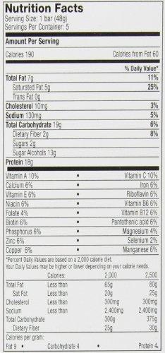 Hydroxycut Lean Protein Bars, Chocolate Fudge, 5 Count - 1.7oz Bars