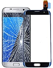 for Samsung for Galaxy S7 Edge Replacement Touch Screen Digitizer Repair Glass Outer Front Glass for G935V G935P G935F G935T G935A (not Include LCD - Blue)