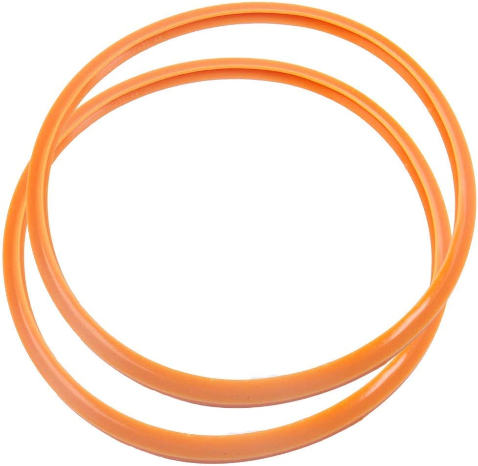 NA Pressure Cooking Sealing Ring, 30 cm Silicone Rubber Gasket Sealing Ring for Pressure cookers, Set of 2