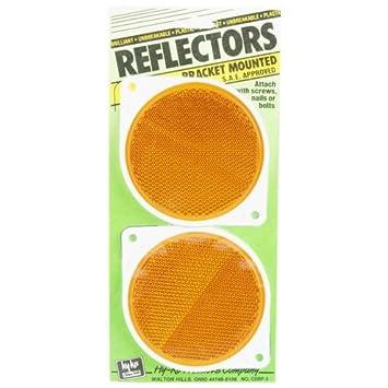 Hy-ko Prod Co #cdrf-3b 2pk 3-1/4'blu Reflector