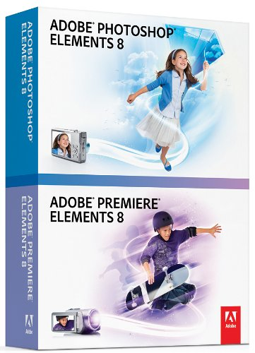 Adobe Photoshop & Premiere Elements 8 [OLD VERSION] (Photo Editing Software Reviews)