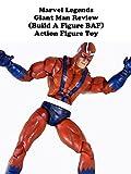 Review: Marvel Legends Giant Man Review (Build A Figure BAF) Action Figure Toy