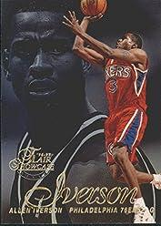 cc58782d2b9 1996-97 Flair Showcase Row 2  3 Allen Iverson RC Rookie Card - NM