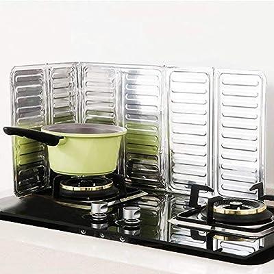 hoomoi cocina aceite Splash Guard Gas Estufa Cocina Aceite Removal caliente prueba junta herramienta de cocina