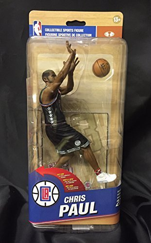 LA Clippers NBA Series 27 Action Figure: Chris Paul (Silver Level Variant) by McFarlane Toys