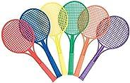 US Games Junior Plastic Tennis Racquet (Set of 6)