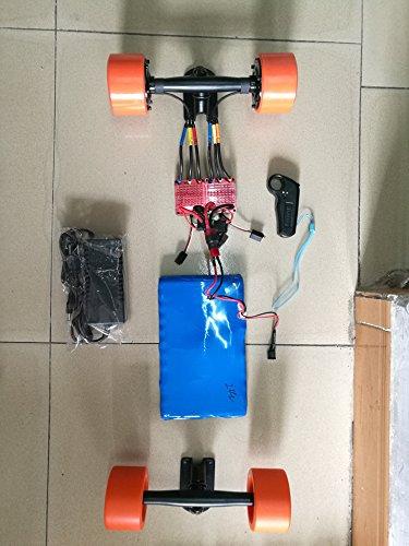 Nucbot DIY motorized skateboard longboard 50mm hub motor kit  ESC remote control  battery  Buy