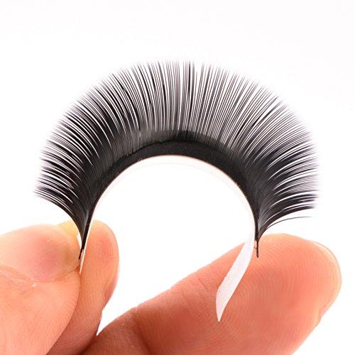 LANKIZ 3d Eyelash Extensions C Curl 0.15mm Mixed Tray, Volume False Lash Extensions Individual Eyelash Extension Supplies Salon Perfect Use by LK LANKIZ (Image #4)