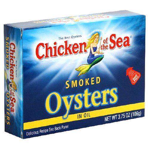 Chicken of the Sea, Smoked Oysters, 3.75 ()