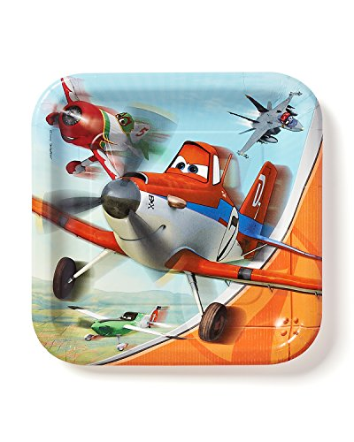 American Greetings Planes Lunch Plates (8