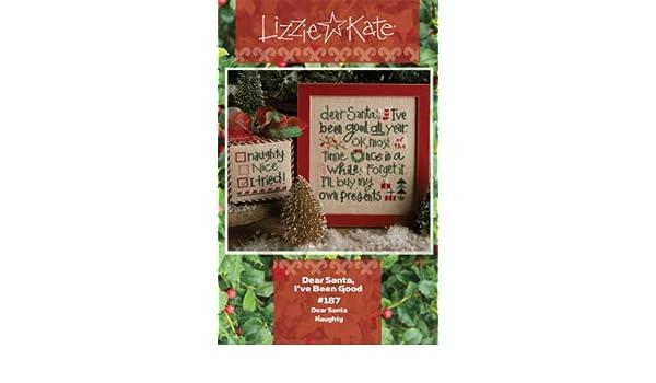 Ive Been Good Dear Santa Cross Stitch Chart and Free Christmas Embellishment #187
