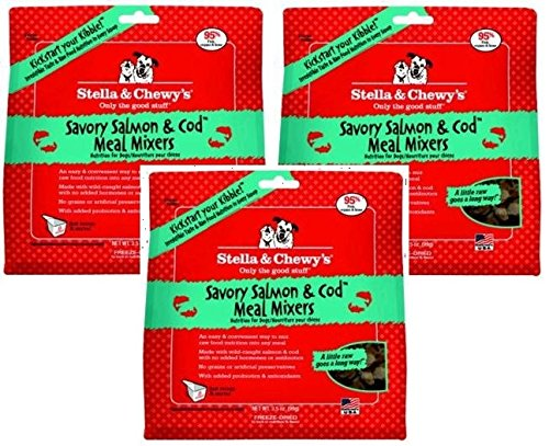 (Stella & Chewys Freeze-Dried Savory Salmon & Cod (Pack of)