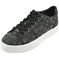 Coach Women's Paddy Outline Signature Canvas Nappa Sneakers, Style A001922