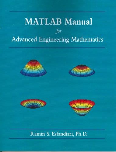 MATLAB Manual for Advanced Engineering Mathematics