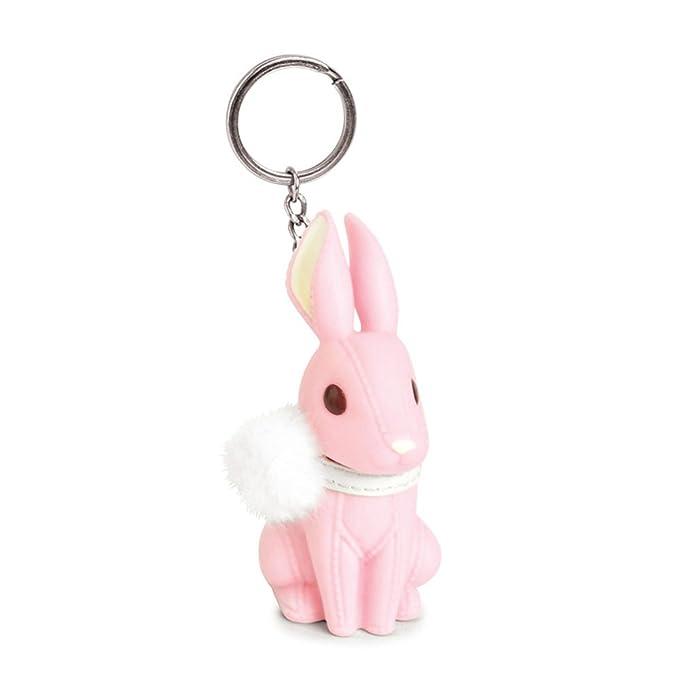 Amazon.com: YGMONER - Llavero colgante de conejo, 3 colores ...