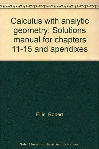 tan calculus solutions manual pdf
