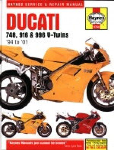H3756 1994-2001 748 916 996 V- Twin Ducati Motorcycle Repair Manual ()