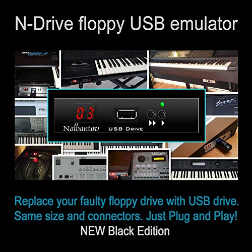 (Nalbantov USB Floppy Disk Drive Emulator for Roland MC-50 Micro Composer ~ various sounds included ~)