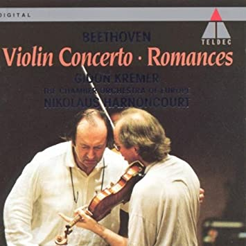 Ludwig Van Beethoven Romances For Violin And Orchestra Op.40 And 50 MUSIC BOOK