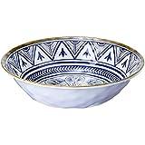 Bowl Linha Mandala Mimo Style Azul/branco