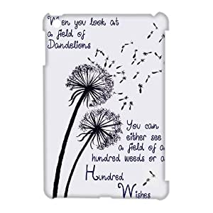 DIY 3D Cover Case for iPad mini w/ Dandelion image at Hmh-xase (style 1)