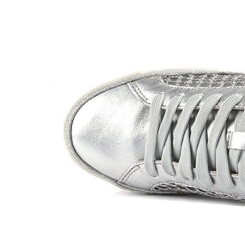 Crimine Londra Haz Scarpe Sneaker Argento Donna 40 Grigio