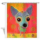 CafePress - Little Chico - Decorative Fabric Shower Curtain