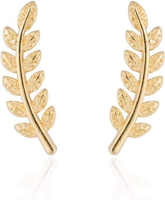Pickle Earrings\u2014enhanced surface