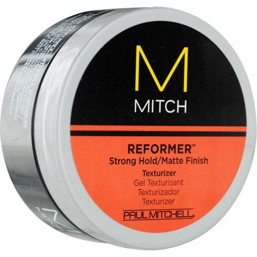 Paul Mitchell hommes de Paul Mitchell Mitch réformateur forte attente / fini mat Placage de texture pour les hommes, 3 onces