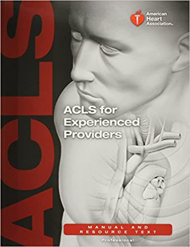 acls for experienced providers manual and resource text elizabeth