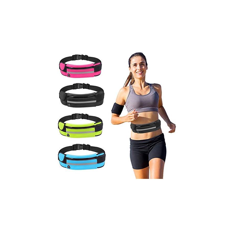 Phone Running Belt Running Fanny Pack, Waist Pack Running Belt, Waterproof Running Belt Pouch for Women and Men, Running Belt for Phone