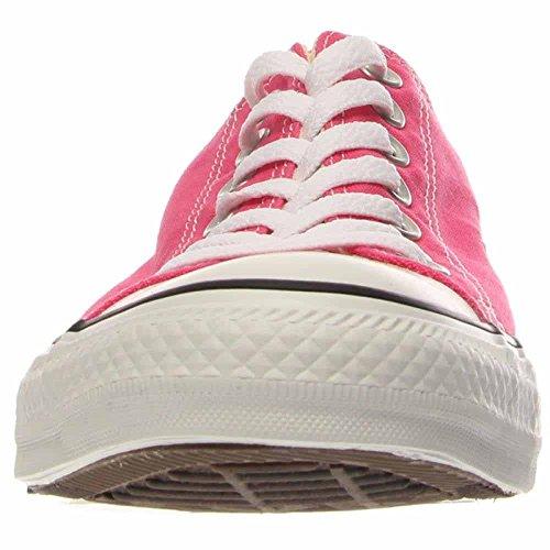 Converse Chuck Taylor bajo la zapatilla de deporte de la lona Pink Paper